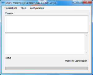 Our Emery-Waterhouse Updater
